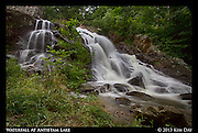 Waterfall at Antietam Lake<br /> Reading, PA<br /> July 2013