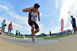 05/08/2017; Clinquart, Simon, F46, BEL at 2017 World Para Athletics Junior Championships, Nottwil, Switzerland