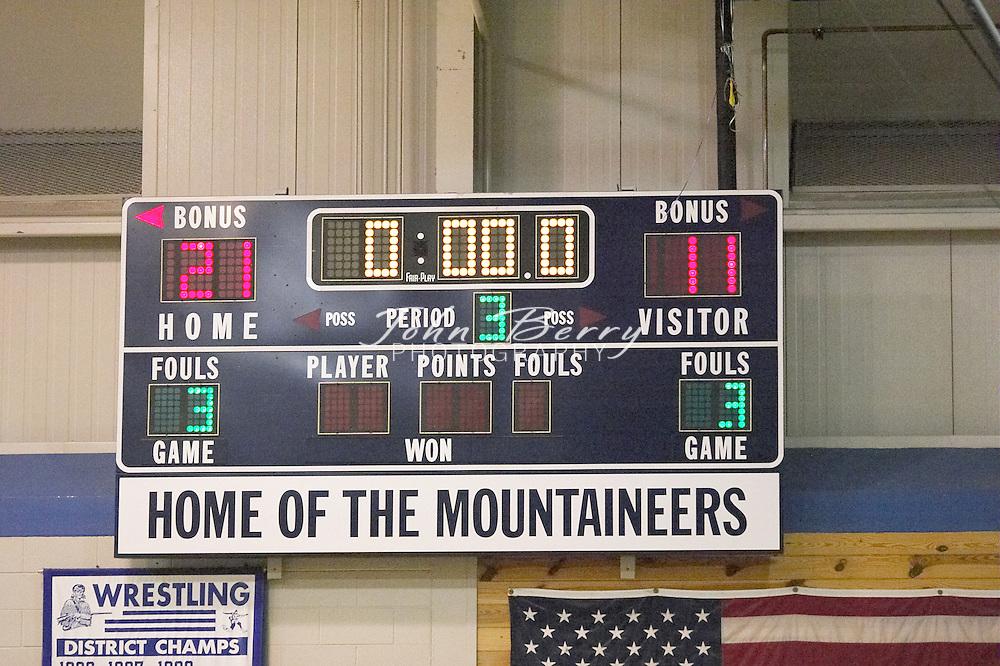 8th Grade Boys Basketball..Third Period..vs Luray..December 3, 2004