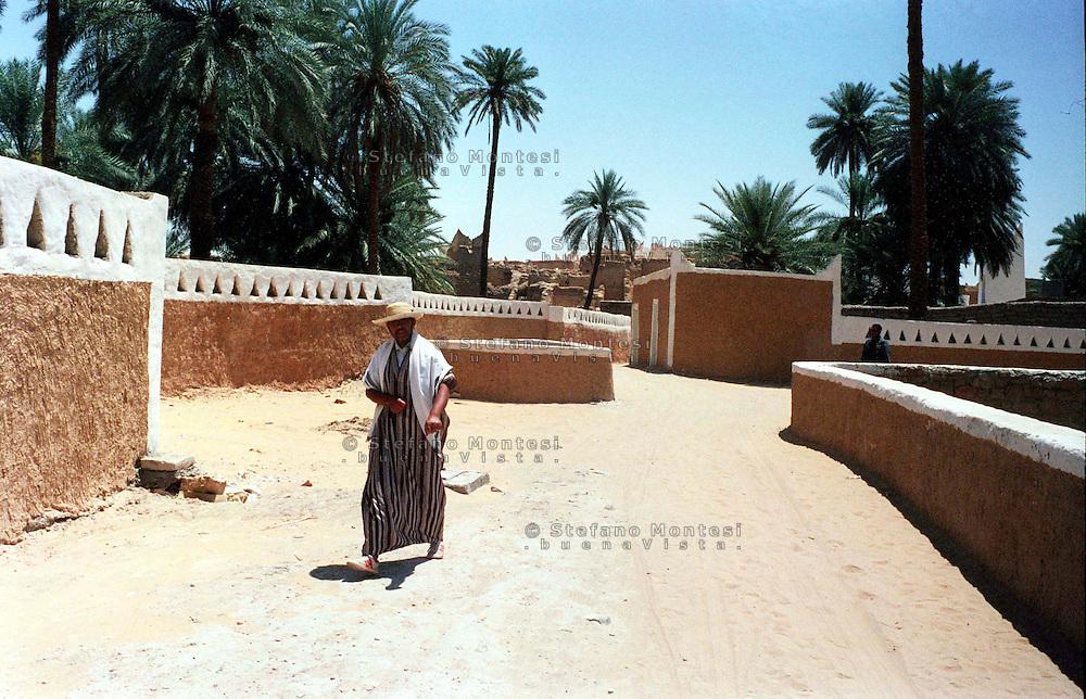 Libia, Ghadhames .La città vecchia