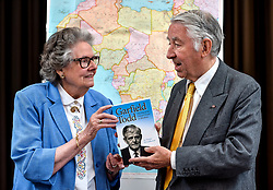 Author Susan Woodhouse launched her biography of former Rhodesian Prime Minister Garfield Todd along with former Liberal leader and Presiding officer of the Scottish Parliament Lord David Steel, who was a friend of the Southern African politician.<br /> <br /> &copy; Dave Johnston/ EEm