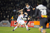 FOOTBALL - FRENCH CHAMPIONSHIP 2009/2010 - L1 - GIRONDINS BORDEAUX v MONTPELLIER HSC - 07/03/2010 - PHOTO JEAN MARIE HERVIO / DPPI - FERNANDO CAVENAGHI (BOR)