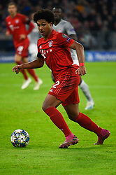 November 6, 2019, Munich, Germany: Serge Gnabry from Bayern seen in action during the UEFA Champions League group B match between Bayern and Olympiacos at Allianz Arena in Munich. (Credit Image: © Bruno De Carvalho/SOPA Images via ZUMA Wire)