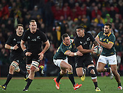 JOHANNESBURG, South Africa, 25 July 2015 : Jesse Kriel of the Springboks tries to stop Charles Piutau of the All Blacks during the Castle Lager Rugby Championship test match between SOUTH AFRICA and NEW ZEALAND at Emirates Airline Park in Johannesburg, South Africa on 25 July 2015. Bokke 20 - 27 All Blacks<br /> <br /> © Anton de Villiers / SASPA