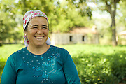 Ilknur is a local farmer in Fethiye who invites tourists to come and see how she grows the food they are eating in their hotels