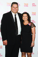 Jonathan & Nikki Tapper, The Breast Cancer Care Fashion Show - Evening Show, Grosvenor House Hotel, London UK, 07 October 2015, Photo by Brett D. Cove