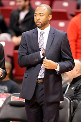 31 December 2014:  Will Veasley during an NCAA Division 1 Missouri Valley Conference (MVC) men's basketball game between the Indiana State Sycamores beat the Illinois State Redbirds 63-61 at Redbird Arena in Normal Illinois