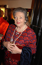 LADY DUNCAN SANDYS at a party to ceebrate the bublication of 'The Ravenscar Dynasty' by Barbara Taylor Bradford hld at the newly opened Mousaieff Store, 172 New Bond Street, London on 28th September 2006.<br /><br />NON EXCLUSIVE - WORLD RIGHTS