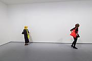 """56th Art Biennale in Venice - All The World's Futures.<br /> Giardini.<br /> Uruguay pavilion.<br /> Marco Maggi, """"GLOBAL MYOPIA"""", 2015."""