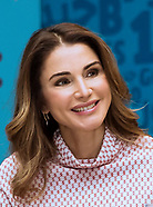 Queen Rania Attends Teachers Forum