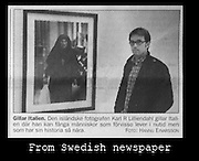 Swedish newspaper article about black and white photography by Karl R Lilliendahl.