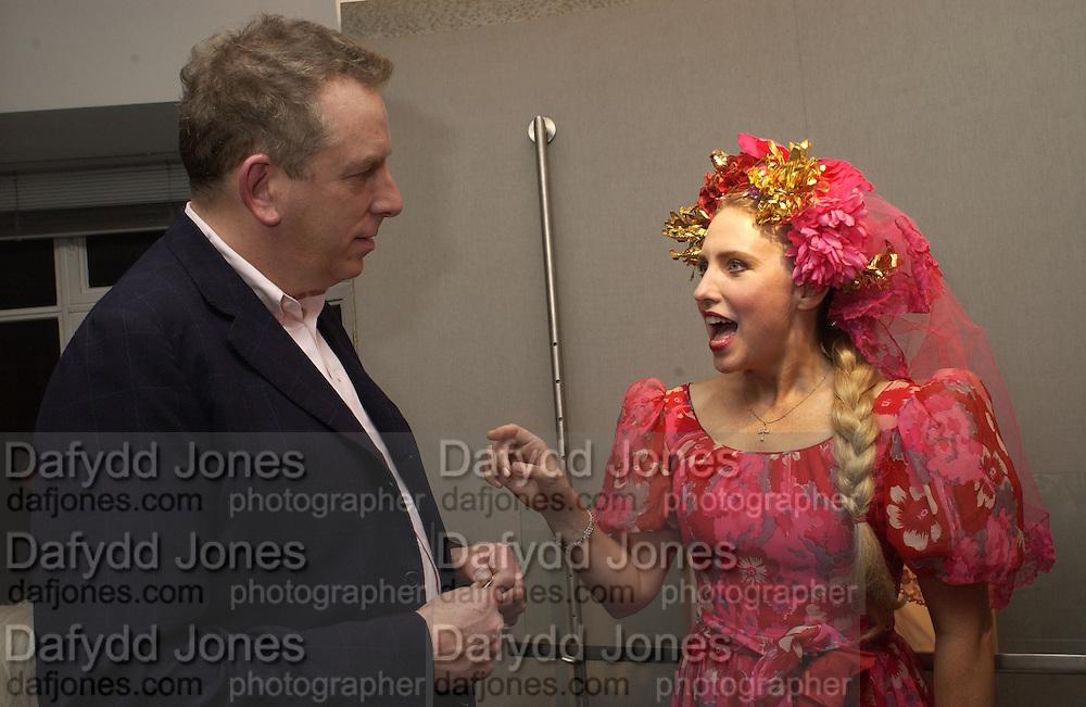Michael Howells and Katrine Boorman. Anne Faggionato Ð Danny Moynihan. 20 Dering Street, W1 © Copyright Photograph by Dafydd Jones 66 Stockwell Park Rd. London SW9 0DA Tel 020 7733 0108 www.dafjones.com