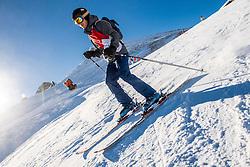 27-01-2017 AUT: BvdGF wintersportkamp dag 3, Obertauern<br /> Het 7de jaar wintersportkamp van de BvdGF is verhuisd naar Obertauern. Prachtige pistes, geweldig jeugdhotel en fantastisch weer maakt er weer een onvergetelijk kamp van / Rick