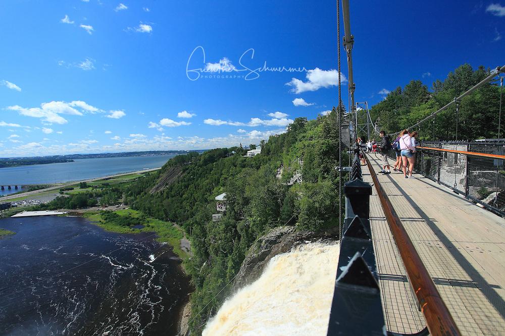 Montmorency Falls,Quebec,Canada