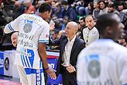 DESCRIZIONE : Campionato 2014/15 Serie A Beko Dinamo Banco di Sardegna Sassari - Acqua Vitasnella Cantu'<br /> GIOCATORE : Kenneth Kadji Stefano Sardara<br /> CATEGORIA : Fair Play Presidente Before Pregame<br /> SQUADRA : Dinamo Banco di Sardegna Sassari<br /> EVENTO : LegaBasket Serie A Beko 2014/2015<br /> GARA : Dinamo Banco di Sardegna Sassari - Acqua Vitasnella Cantu'<br /> DATA : 28/02/2015<br /> SPORT : Pallacanestro <br /> AUTORE : Agenzia Ciamillo-Castoria/L.Canu<br /> Galleria : LegaBasket Serie A Beko 2014/2015