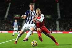 West Bromwich Albion v Arsenal - 31 Dec 2017