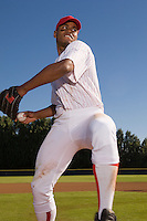 Pitcher Winding Up