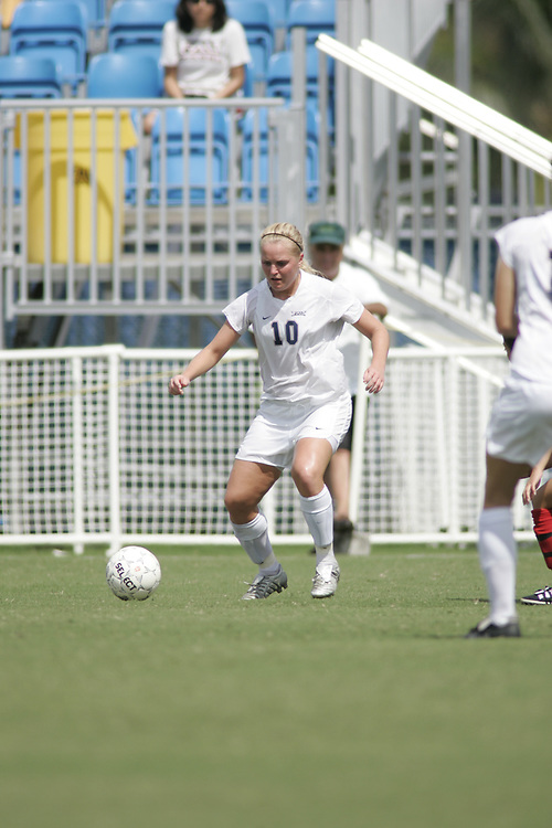 FAU WOMEN'S SOCCER vs Gardner-Webb, October 9, 2005.