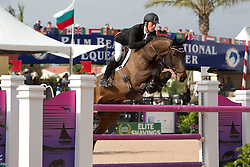 Brash Scott (GBR) - Bon Ami<br /> Horseware GP CSI 2*<br /> Wellington 2012<br /> © Hippo Foto - Cealy Tetly