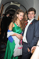 FREYA WOOD and MALACHY GUINNESS at a party to celebrate the publication of Tatler Magazine's Little Black Book 2012 held at Annabel's, Berkeley Square, London on 7th November 2012.