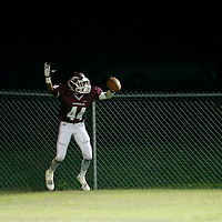 Thomas Wells | BUY AT PHOTOS.DJOURNAL.COM<br /> Smithville's Wesley Grier begins to celebrate after setting up the Semionoles first and goal on a punt return in the second quarter aginst Kennedy Friday night.