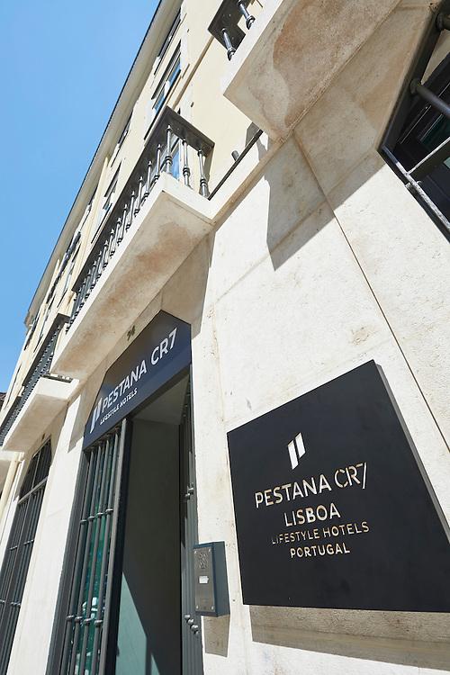 Lisboa, 11/08/2016 - Aspectos do novo Hotel CR7 a ser inaugurado na baixa pombalina.(Paulo Alexandrino / Global Imagens)