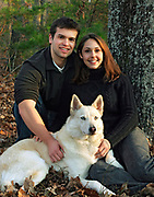 Engagement Portrait in Greenville, South Carolina