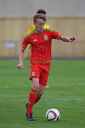NEWPORT, WALES - Thursday, August 4, 2016: Regional Development Boys' Eli King during the Welsh Football Trust Cymru Cup 2016 at Newport Stadium. (Pic by Paul Greenwood/Propaganda)