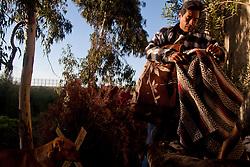Tijuana 2015.<br /> Every morning Juan has to hide his blanket. Juan lives next to the border, in a hut built by him. Since two months he is in Tijuana. He lived in the US, then, to prevent the government took away his daughter because of her economic condition, he returned to Mexico with her. Now his daughter is of age and two months ago she get back to the US, Juan has no papers, so he studies everyday the way to pass the border and reach his daughter.<br />  <br /> Juan vive a fianco della frontiera, in una capanna costruita da lui. Da due mesi si Trova a Tijuana. Prima viveva negli USA poi, per evitare che il governo gli togliesse la figlia a causa della sua condizione economica, e' tornato in Messico. Ora sua figlia &egrave; maggiorenne e due mesi fa &egrave; tornata negli USA, Juan non ha i documenti e ogni giorno studia la frontiera per poter raggiungere la figlia.