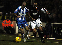 Photo: Olly Greenwood.<br />Colchester United v Hull City. Coca Cola Championship. 28/11/2006. Colchester's Karl Duguid and Hull's Sam Rickets