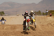 Mini bikes at Mt.Graham MX Park race May 13, 2006 in Safford, Arizona.