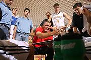 DESCRIZIONE : Roma Lega A1 2008-09 Amichevole Lottomatica Virtus Roma Solsonica Rieti<br /> GIOCATORE : Jasmin Repesa<br /> SQUADRA : Lottomatica Virtus Roma<br /> EVENTO : Campionato Lega A1 2008-2009 <br /> GARA : Lottomatica Virtus Roma Solsonica Rieti<br /> DATA : 08/10/2008 <br /> CATEGORIA : ritratto time out<br /> SPORT : Pallacanestro <br /> AUTORE : Agenzia Ciamillo-Castoria/E.Castoria