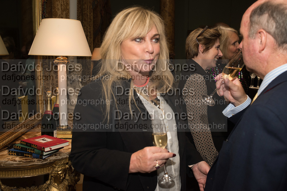 HELEN FIELDING, Everyman 25th Anniversary party, Spencer House. St. James' Place. London. SW1. 26 October 2016