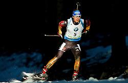 SCHEMPP Simon (GER) competes during Men 15 km Mass Start at day 4 of IBU Biathlon World Cup 2014/2015 Pokljuka, on December 21, 2014 in Rudno polje, Pokljuka, Slovenia. Photo by Vid Ponikvar / Sportida