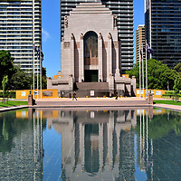 ANZAC War Memorial in Hyde Park in Sydney, Australia<br />