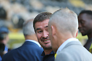 Burton Albion Manager Nigel Clough during the EFL Cup match between Burton Albion and Bournemouth at the Pirelli Stadium, Burton upon Trent, England on 25 September 2019.