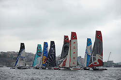 28th May 2011 Istanbul Turkey, Extreme Sailing Series, Racing on the Bosphorus