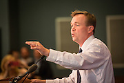 US Congressmen Mick Mulvaney during a Republican Party BBQ fundraiser for Senator Rand Paul on June 28, 2013 in Columbia, South Carolina.