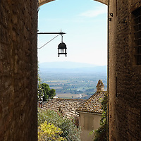 ASSISI, ITALY - OCTOBER 03:  A view  along the streets of Assisi on October 3, 2013 in Assisi, Italy. Pope Francis is due to venerate the tomb of San Francesco of Assisi tomorrow during his one-day visit to the city.  (Photo by Marco Secchi/Getty Images)