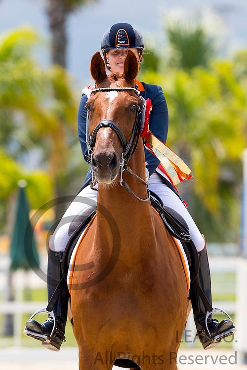 Jeanine Nieuwenhuis - TC Athene<br /> European Championships Dressage 2016<br /> &copy; DigiShots