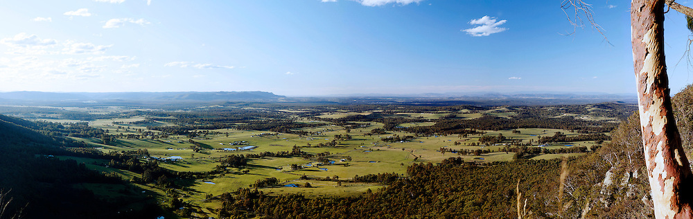 View from Hunter Lookout, Hunter Valley, NSW,Australia