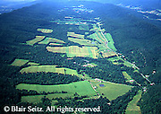 Southwest PA Aerial, Bedford Co, Forest and Farms Aerial Photograph Pennsylvania