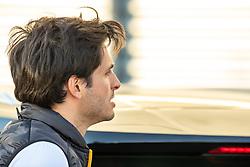 February 28, 2019 - Montmelo, Barcelona, Calatonia, Spain - Carlos Sainz's (McLaren) portrait in pit-lane seen during the 3rd journey of second week F1 Test Days in Montmelo circuit. (Credit Image: © Javier Martinez De La Puente/SOPA Images via ZUMA Wire)