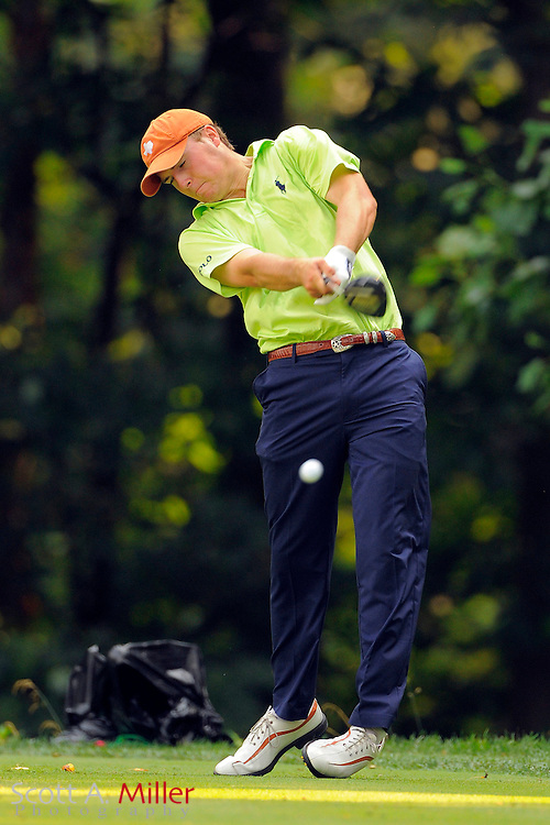 Jordan Spieth during the second round of the AT&T National at Congressional Country Club on June 29, 2012 in Bethesda, Maryland. ..©2012 Scott A. Miller