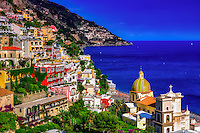 """The church of Santa Maria Assunta guards the coast of Positano""…<br />