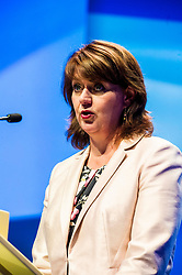 Pictured: Leanne Wood, AM, Leader of Plaid Cymru Party Of Wales<br /> The members of the SNP gathered in the Scottish Events Centre in Glasgow for their annual conference.<br /> <br /> The Ger Harley   EEm 9 October 2017