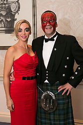 01 November 2013 Brian and Michele Forester pictured at the Irish Cancer Society Masquerade Ball in the Shelbourne Hotel. For more information or to support the Irish Cancer Society please visit www.cancer.ie . Picture Andres Poveda