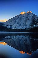Lower Elk Lake in fall. Elk Lakes Provincial Park, southeast British Columbia