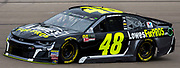 Mar 03, 2018 Las Vegas, NV  U.S.A.  # 48 Jimmie Johnson   coming down the home straight away during the Pennzoil 400 qualifier Nascar at Las Vegas Motor Speedway. Thurman James / CSM