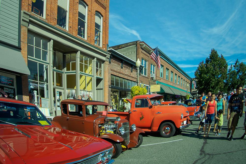Washington, Snohomish, Classic Car Show